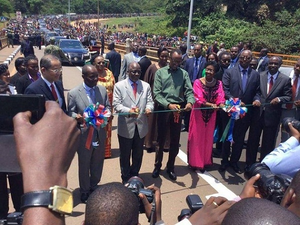 Rusumo bridge launch today. Photos via @UrugwiroVillage, @jumuiya and CloudsFM