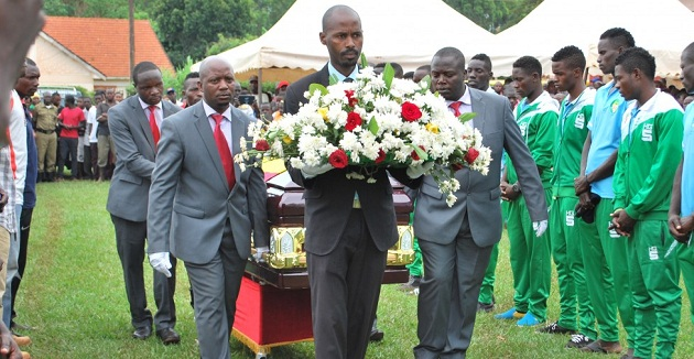 Dhaira was laid to rest today. PHOTOS BY FUFA