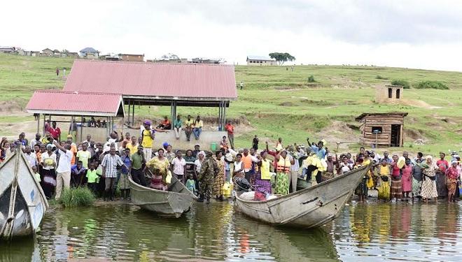 Museveni Boat 2