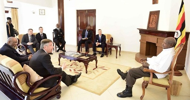 Museveni meets the Norwegians recently to discuss Bujagali.