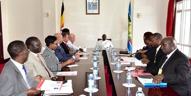 Museveni soft drinks meeting