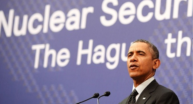 Obama speaks on nuclear security at a past event. FILE AFP PHOTO