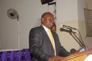 Minister Bakalubindi. ALL PHOTOS BY FUFA