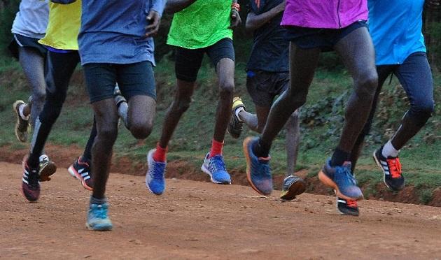 kenyan runners afp