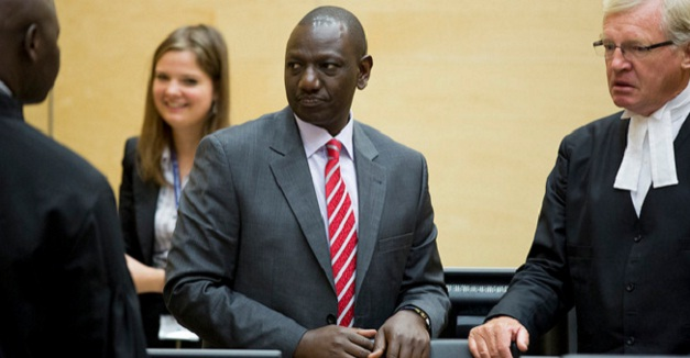 Ruto at the Hague last year. FILE PHOTO BY ICC