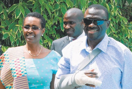 Besigye and byanyima