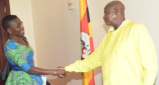IMF head for Africa Antoinette Sayeh has met Museveni to present the report on Uganda