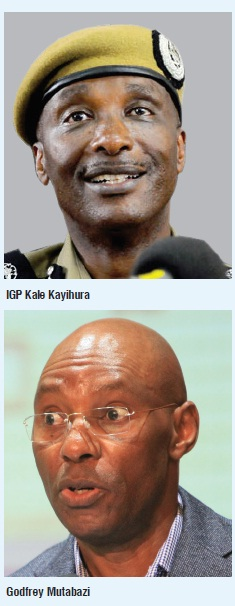 Kayihura and Mutabazi