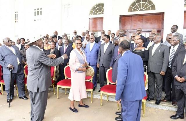 Museveni cabinet 2016 may