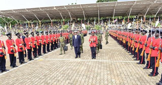 Museveni inspects 1