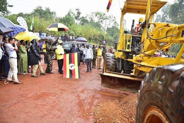 Museveni roads