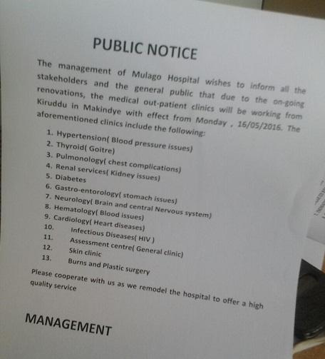 public notice kiruddu