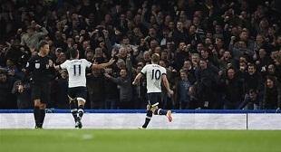 Spurs took early lead before they were stunned by Chelsea