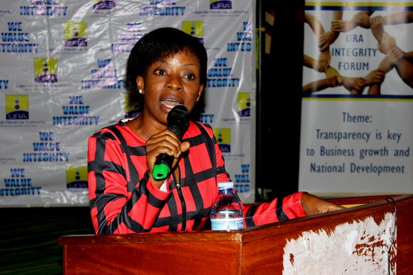 Cissy Kagaba, Executive Director, Anti Corruption Coalition Uganda