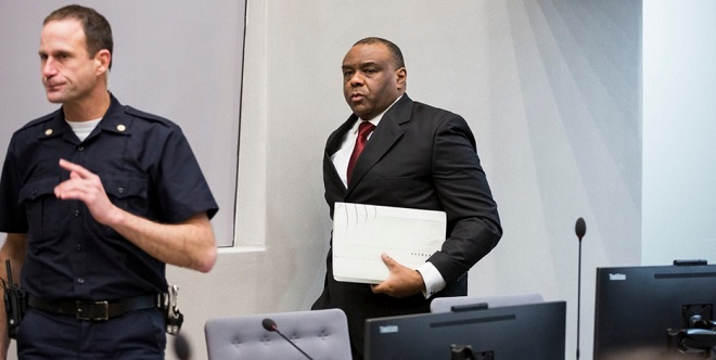 Bemba at the ICC earlier. FILE PHOTO ICC