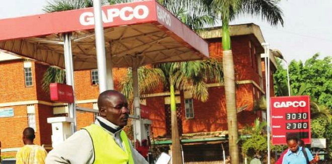 Gapco fuel station at Kisementi, Kampala. PHOTO P KAGENDA