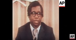 Screenshot of Kibedi in AP video in the 1970s
