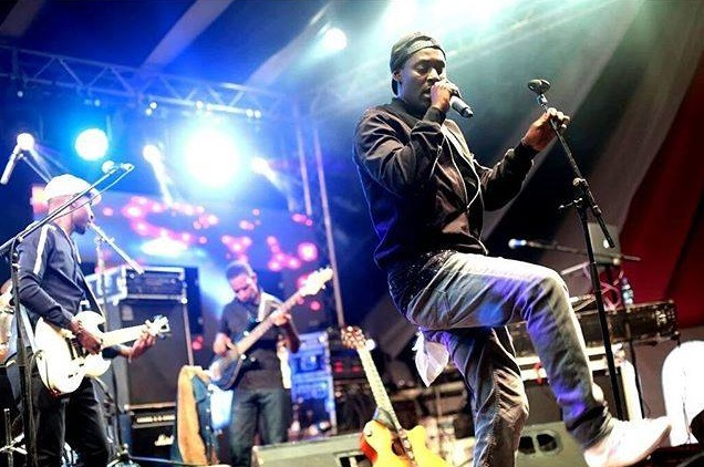 Maurice Kirya performs in Nairobi. PHOTOS MAURICE KIRYA FACEBOOK