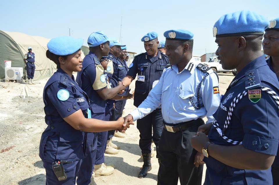 Yiga on duty in south sudan