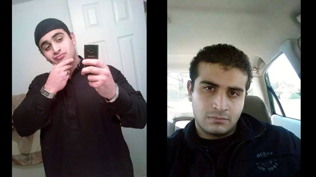 Orlando gay club shooter Omar Marteen. Photo via @cctvnews