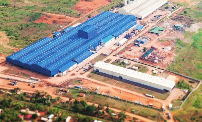 The Roofings Plant. Roofings along Entebbe Road is one of the heavily indebted businesses lined up for a bailoutCOURTESY PHOTO