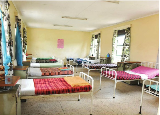 One of the dormitories at the Alcohol and Drug Unit at Butabika Hospital. INDEPENDENT/JIMMY SIYA