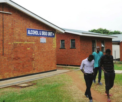 The Alcohol and Drug Unit at Butabika Hospital. INDEPENDENT/JIMMY SIYA