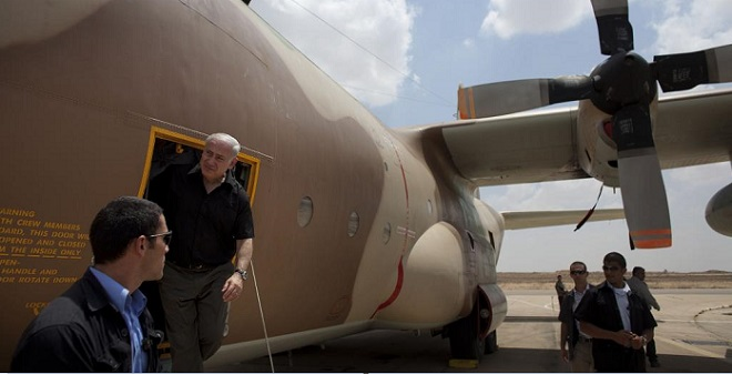 Netanyahu 2009 in Uganda
