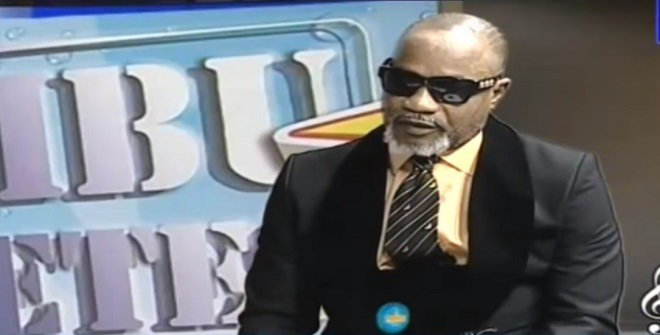 Screenshot from Olomide interview where he apologised today