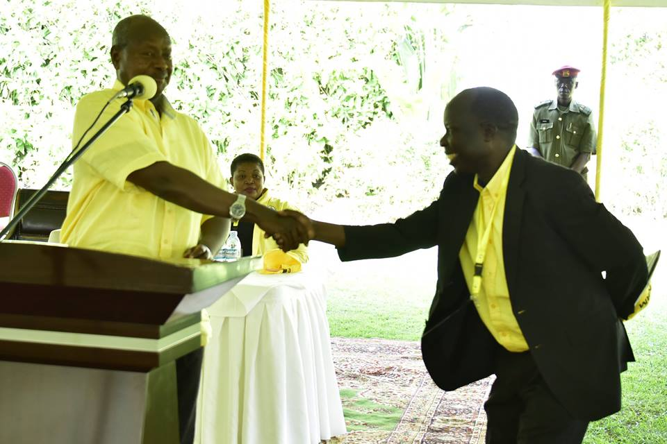 Tanga and Museveni