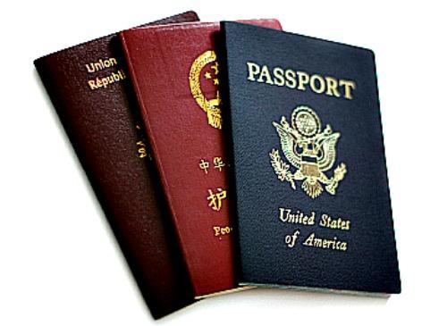 visa passports