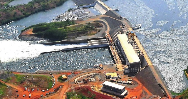 Bujagali dam under construction. COURTESY PHOTOS
