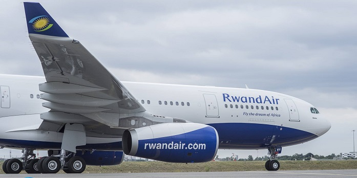 RwandAir's Airbus A330-200. PHOTOS RWANDAAIR