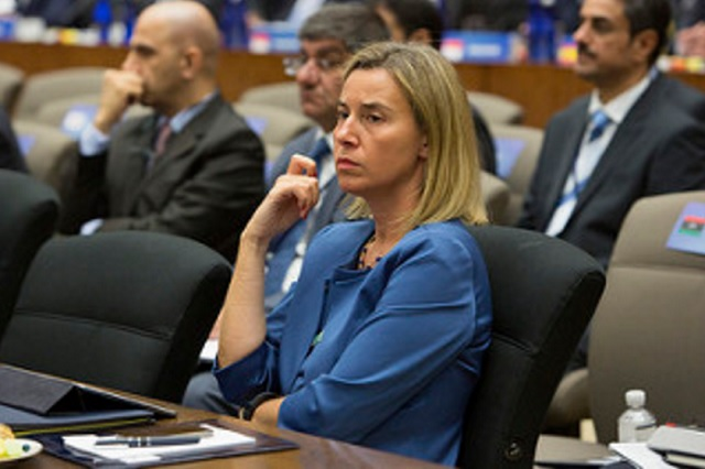 EU foreign policy chief Federica Mogherin