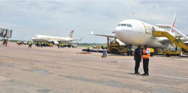 Entebbe Airport. INDEPENDENT / JIMMY SIYA