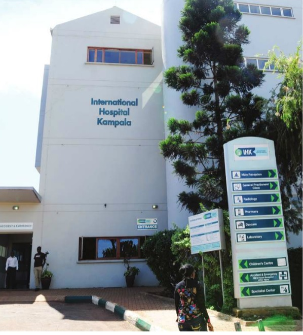 IHK building in Namuwongo. The hospital lost more than Shs 400m in unpaid bills last year.