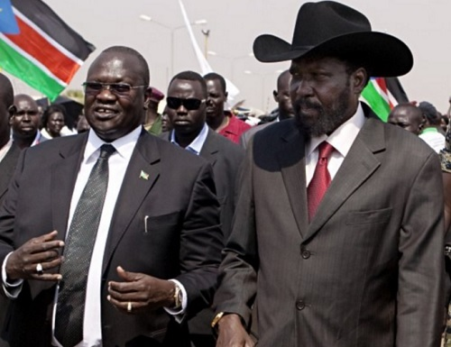Machar and Kiir both accused by corruption report.