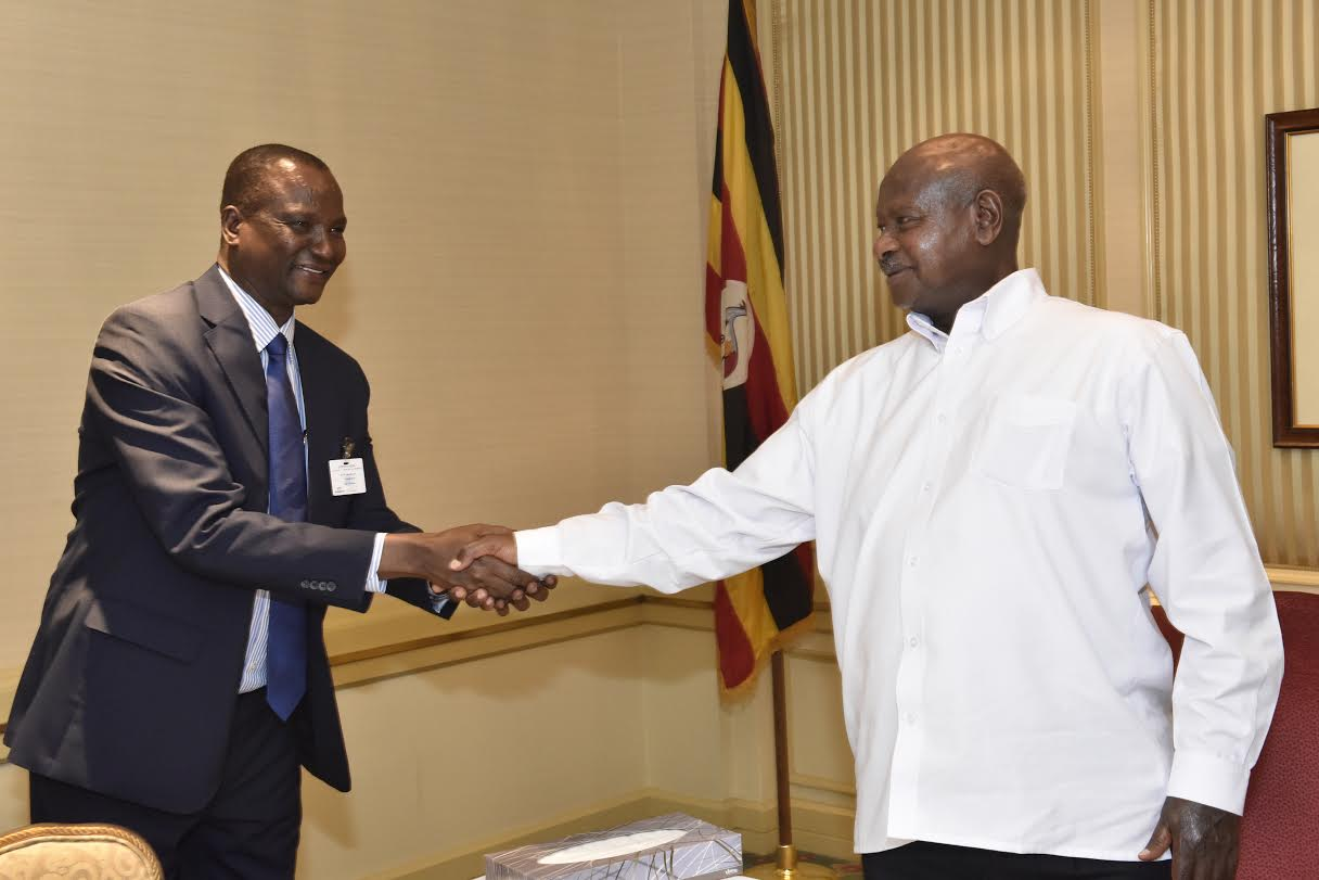 Deng meets Museveni at the sidelines of the UN General Assembly