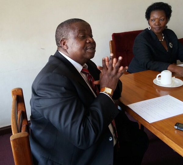 Otafiire talks to parliament's Human Rights Committee chaired by