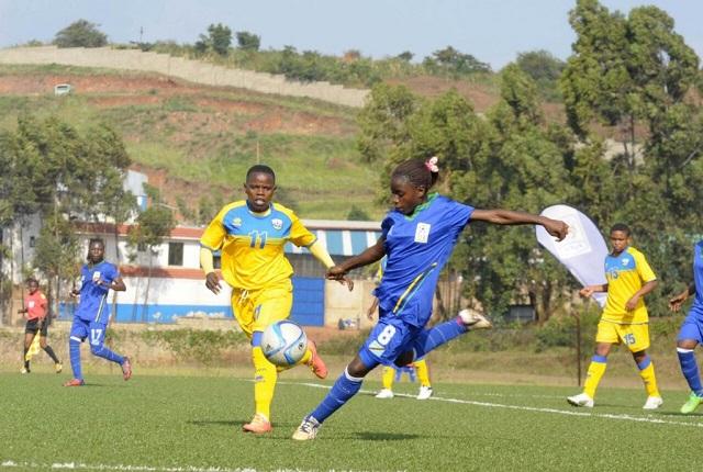 Action on day 2 of the women's CECAFA tournament in Jinja as Tanzania edged Rwanda 3-2 on Sunday. PHOTOS FUFA MEDIA