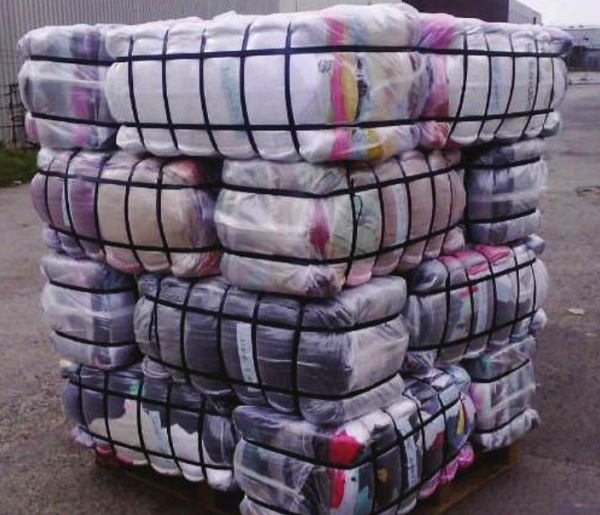 Used clothes bale. Courtesy Photo
