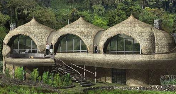 Artistic impression of Bisate Lodge.