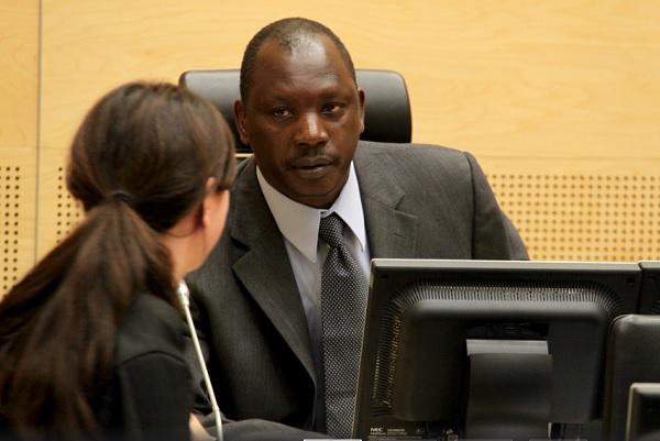 Lubanga during hearing of his case.