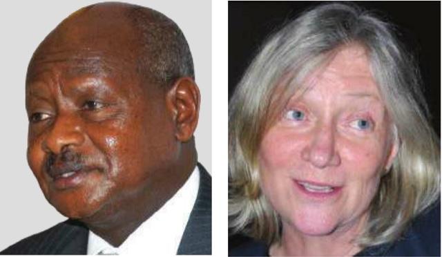 President Museveni and Malmberg Calvo