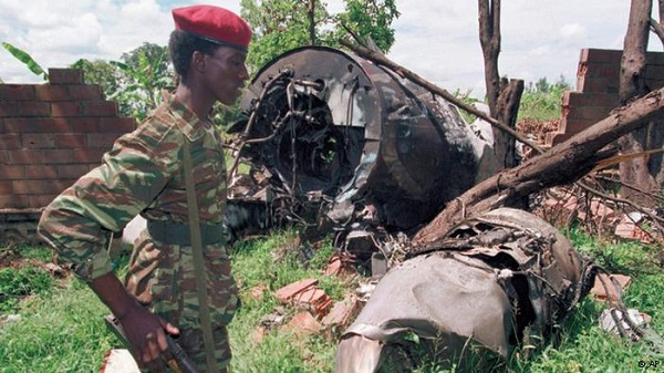 The Habyarimana downed plane