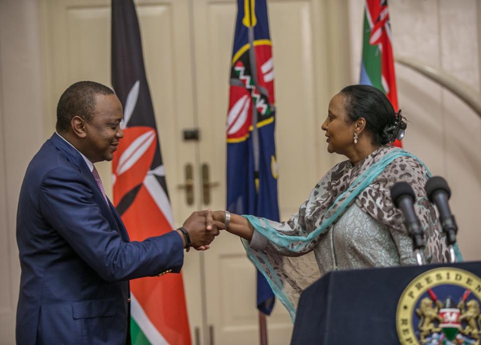 Foreign Affairs Cabinet Secretary Amina Mohamed