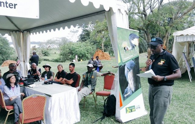 UTB CEO Asiimwe opens the African Birding Expo