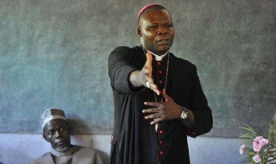 ON THE LIST - 49-year old Dieudonne Nzapalainga, the archbishop of Bangui