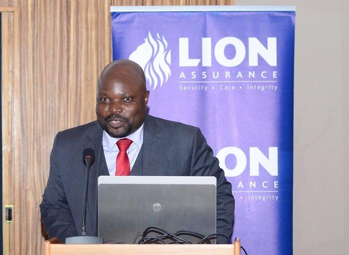 Lion Assurance Managing Director Newton Jazire