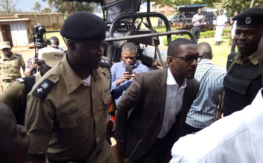Mathew arrives at court today. PHOTO @qataharraymond